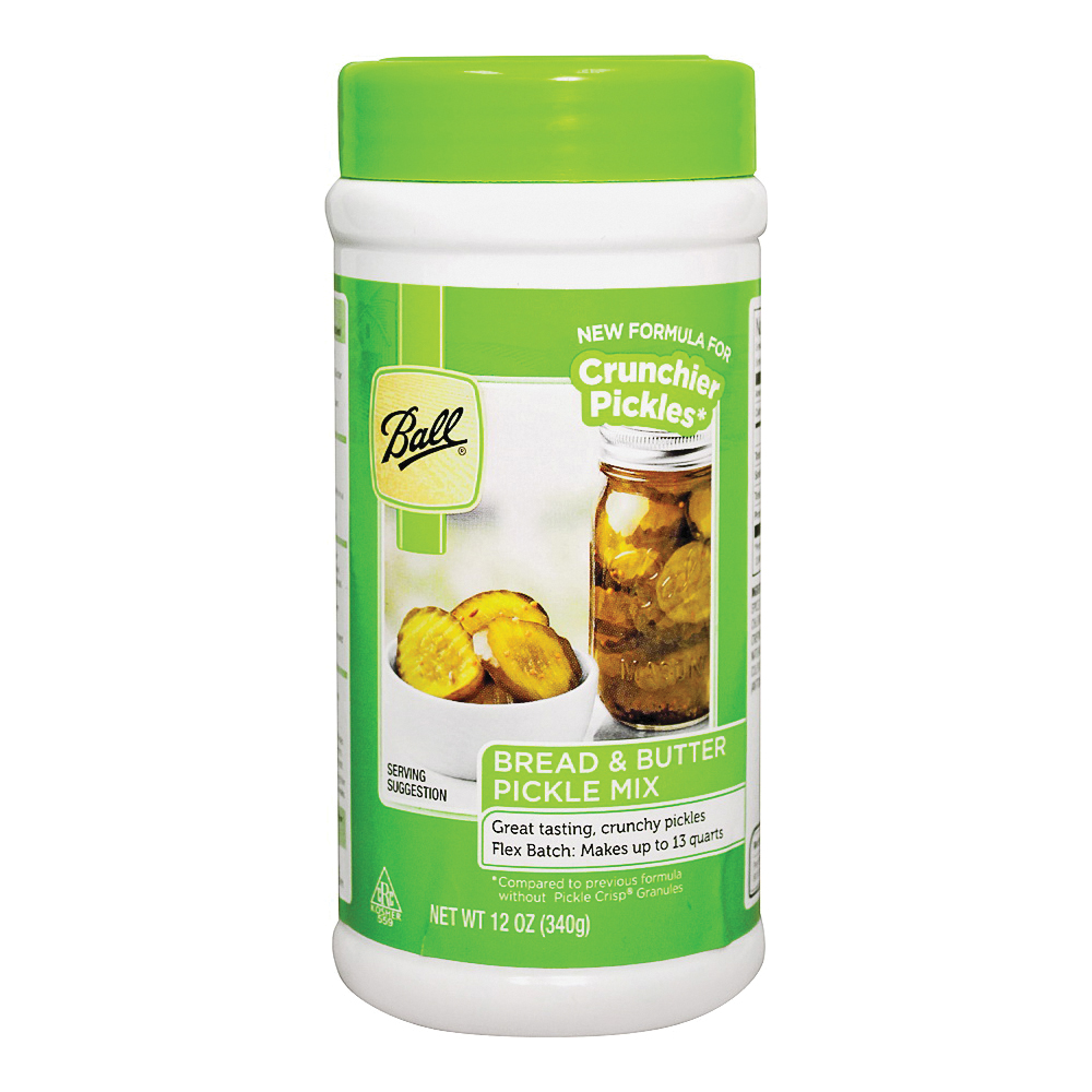 Picture of Ball 72505 Bread and Butter Pickle Mix, 12 oz Package, Bottle