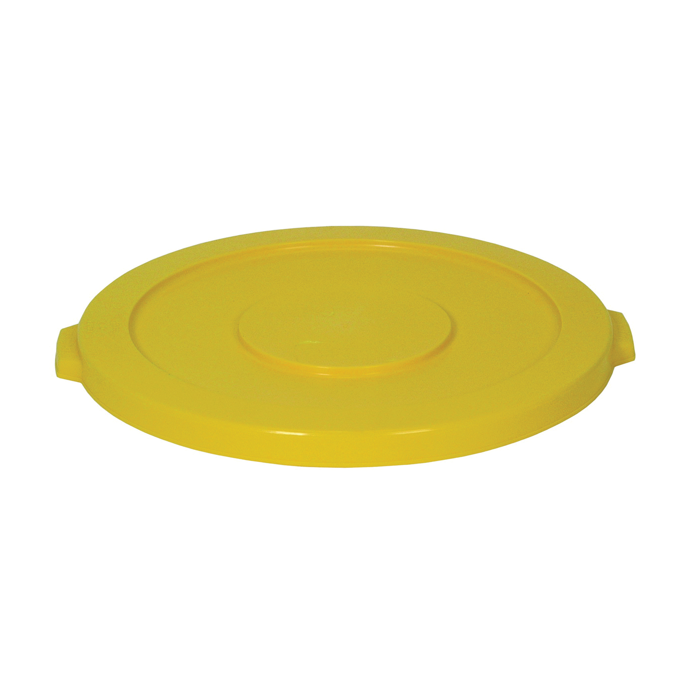 Picture of CONTINENTAL COMMERCIAL Huskee 3201YW Receptacle Lid, 32 gal, Plastic, Yellow, For: Huskee 3200 Container