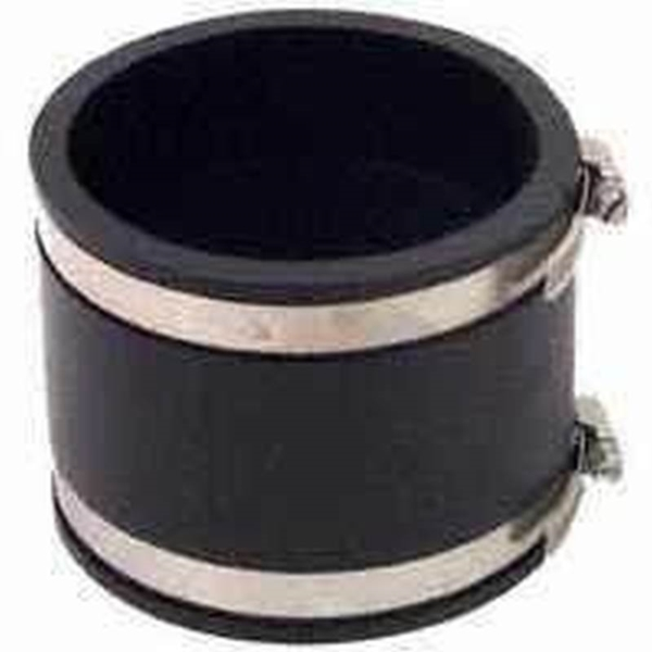 Picture of FERNCO P1056-55 Flexible Pipe Coupling, 5 x 5 in, PVC, 4.3 psi Pressure