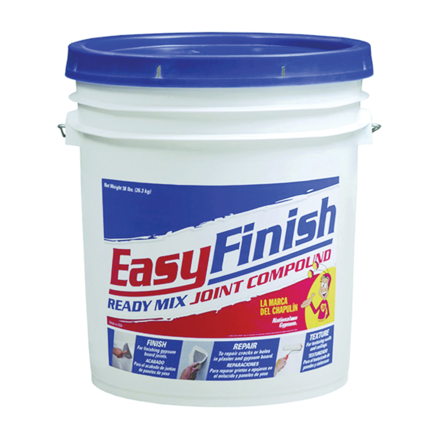Picture of Easy Finish JT0056/80095 Joint Compound, Paste, Gray, 58 lb Package, Pail
