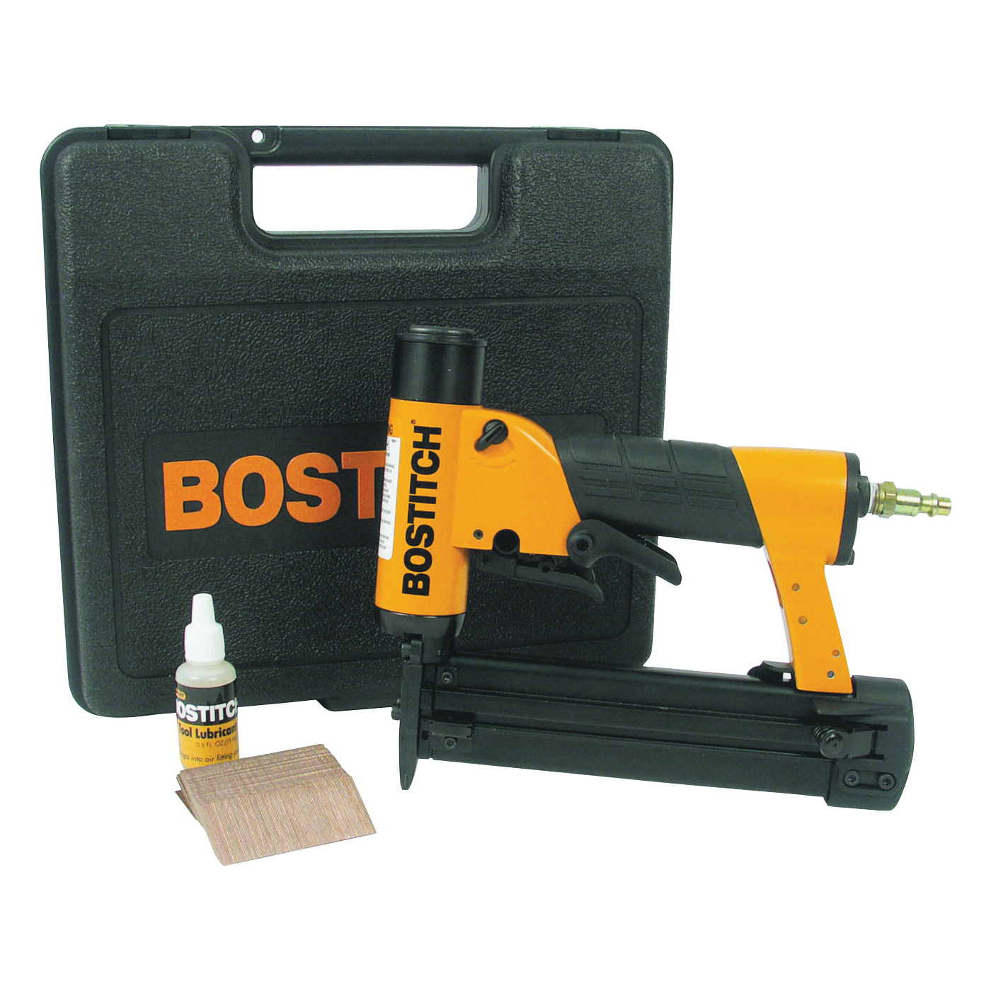 Picture of Bostitch HP118K Pinner Kit, 200 Magazine, Glue Collation, 1/2 to 1-3/16 in Fastener
