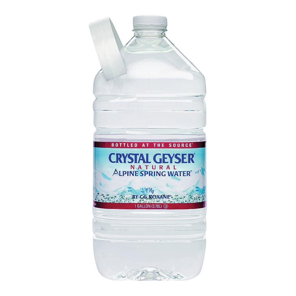 Picture of Crystal Geyser Alpine Spring 12514-2 Bottle Water, Liquid, Spring Flavor, 1 gal Package, Bottle