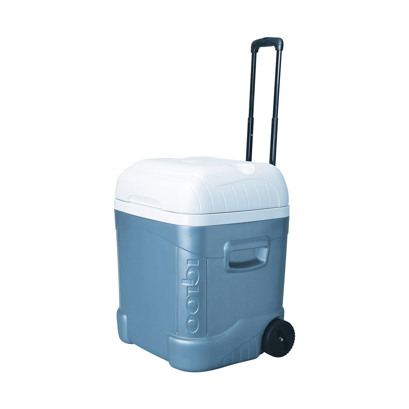 Picture of IGLOO 34701 Ice Chest, 70 qt Cooler, Plastic, Blue/White