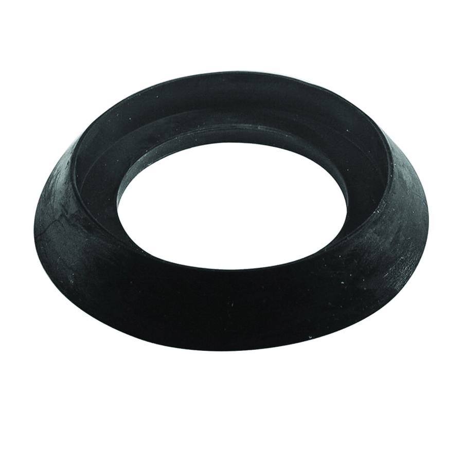 Picture of Danco 80857 Tank-to-Bowl Spud Gasket, 2-3/8 in ID x 4-3/16 in OD Dia, Rubber, Black