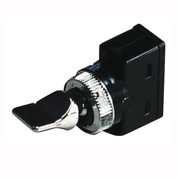 Picture of CALTERM 40090 Duckbill Switch, SPST, On/Off, Toggle Actuator, Black