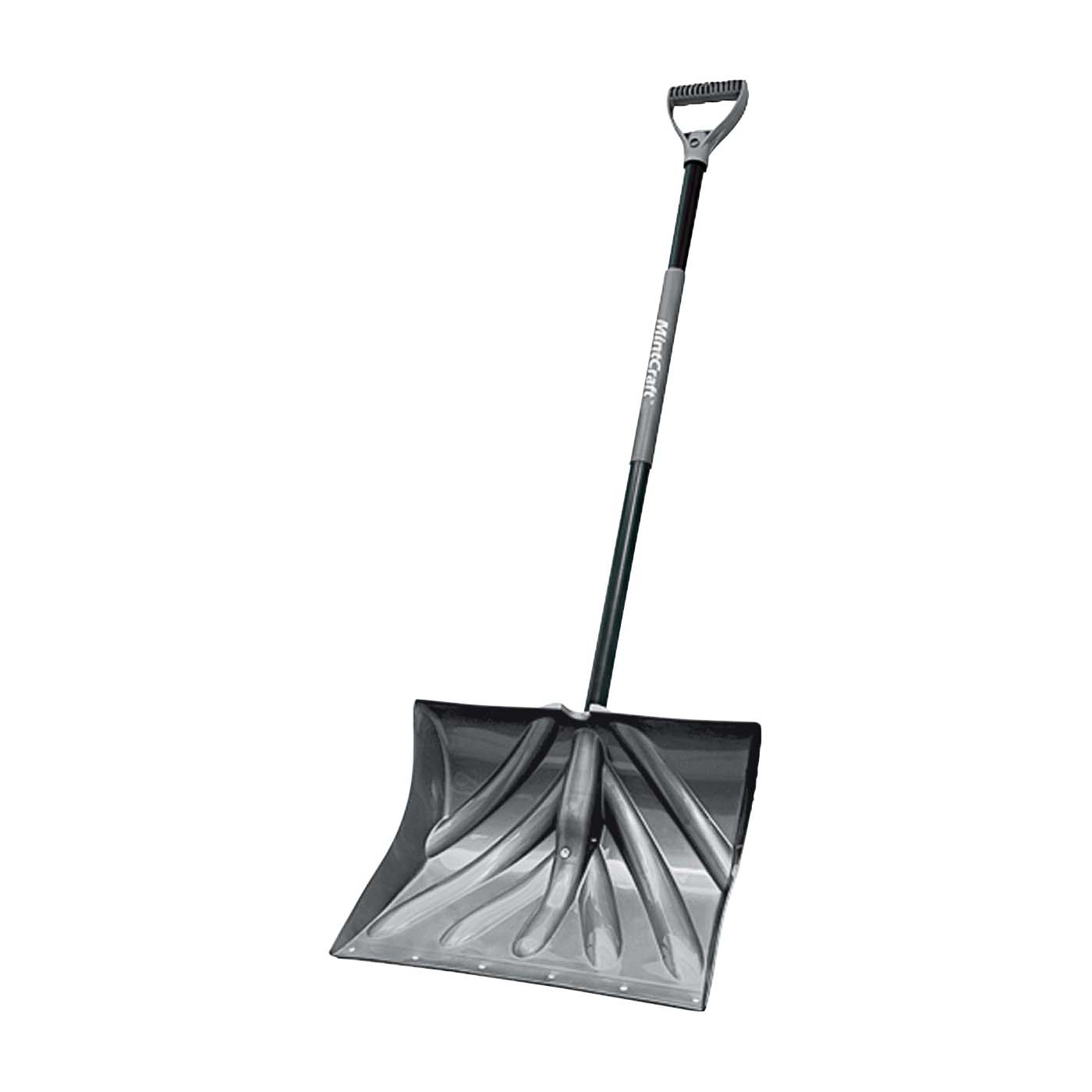 Picture of Vulcan 34631 Snow Shovel with Sleeve, Poly Blade, Steel Handle