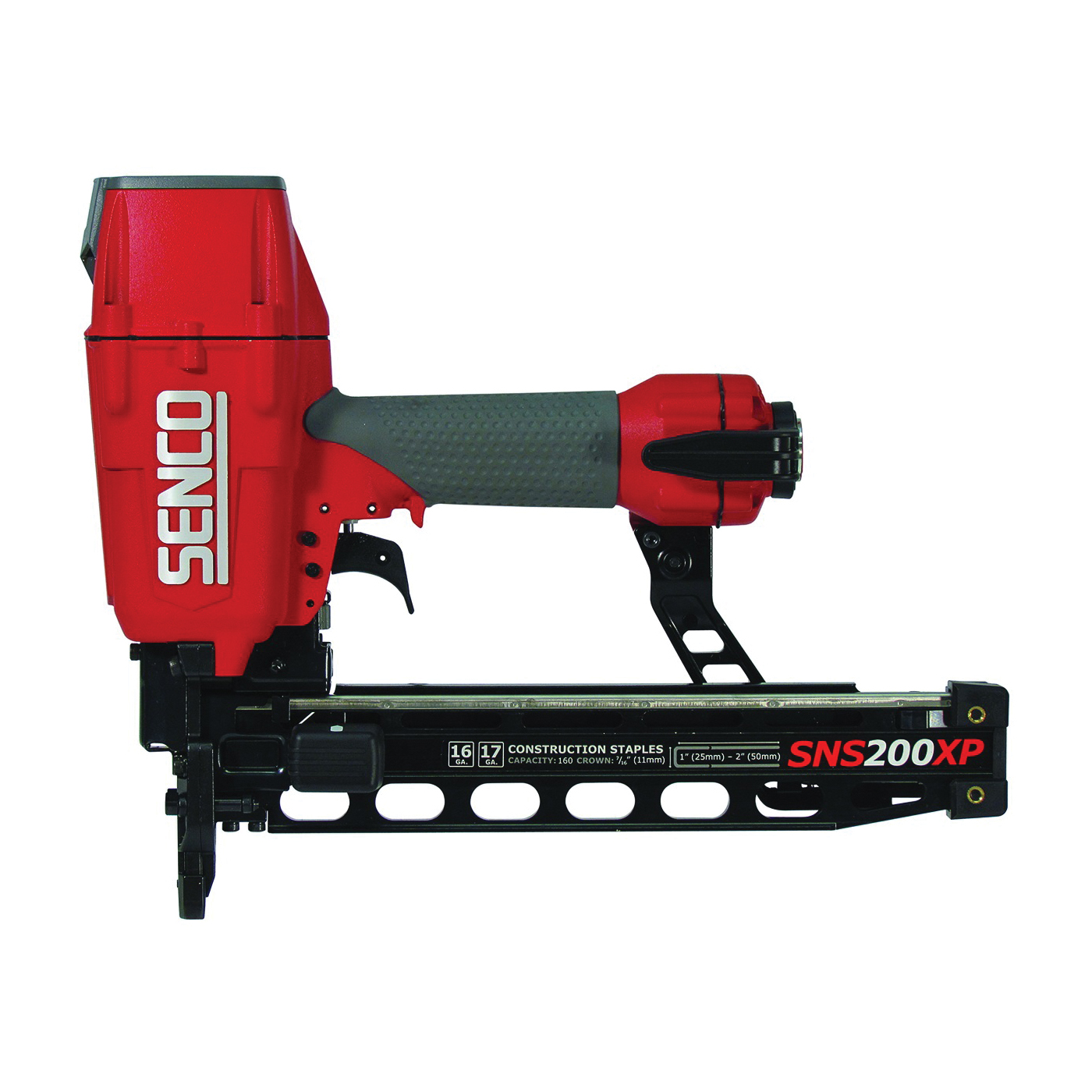 Picture of SENCO 7B0001N Stapler, 7/16 in W Crown, 1 to 2 in L Leg, 160 Magazine, 3.99 cu-ft Air