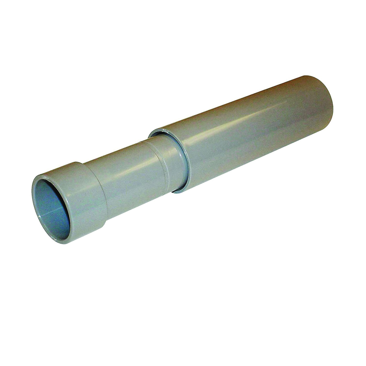 Picture of Carlon E945 Series E945D-CAR Expansion Coupling, 1/2 in Trade, Female Socket, 6 in L, PVC, Gray