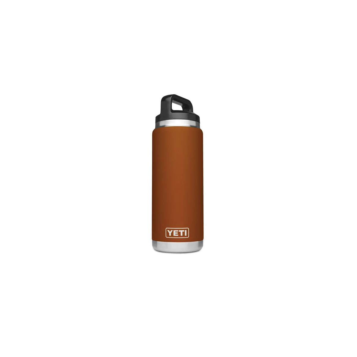 Picture of YETI Rambler 21071500125 Bottle With TripleHaul Cap, 26 oz Capacity, 18/8 Stainless Steel, Clay