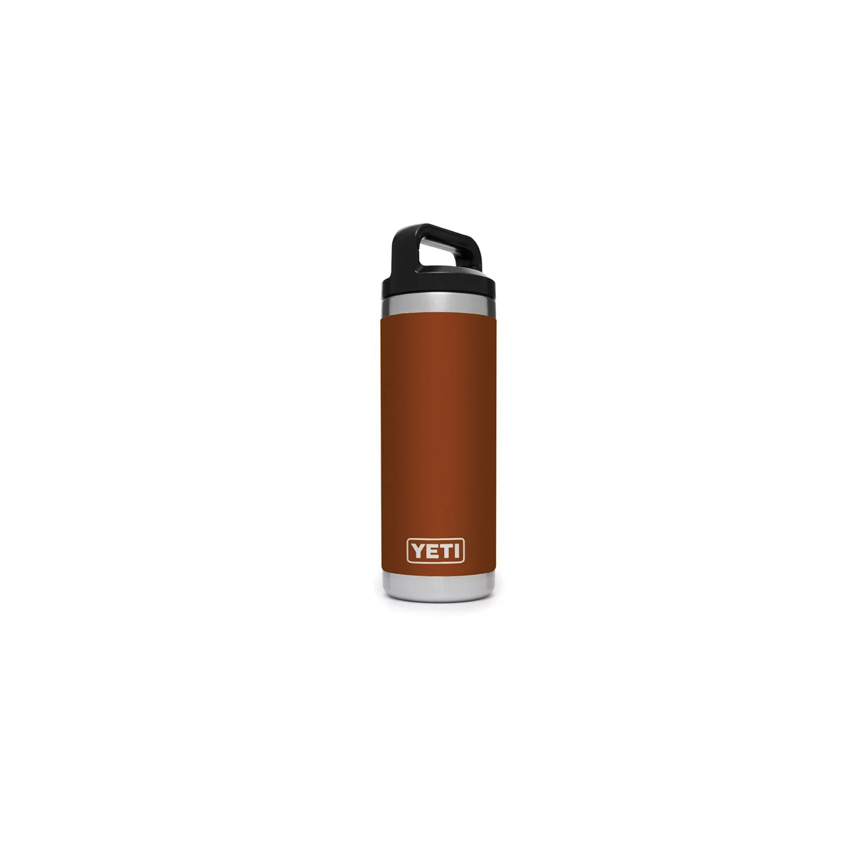 Picture of YETI Rambler 21071500143 Bottle With TripleHaul Cap, 18 oz Capacity, 18/8 Stainless Steel, Clay