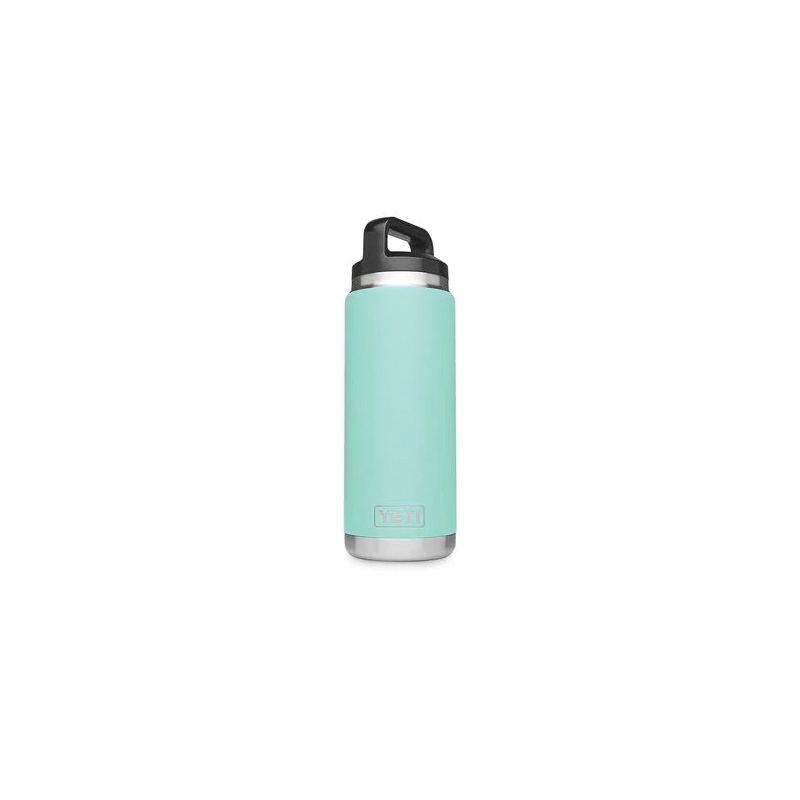 Picture of YETI Rambler 21071500153 Bottle With TripleHaul Cap, 26 oz Capacity, 18/8 Stainless Steel, River Green