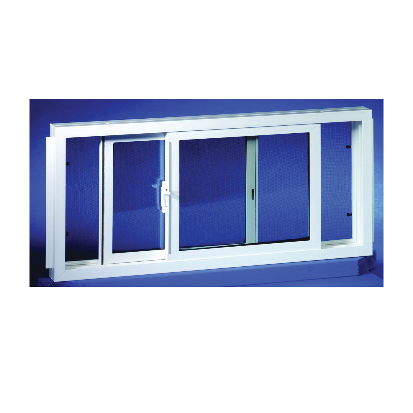 Picture of Duo-Corp 3222SLID Basement Window, Insulated Glass Glass/Screen, Vinyl Frame