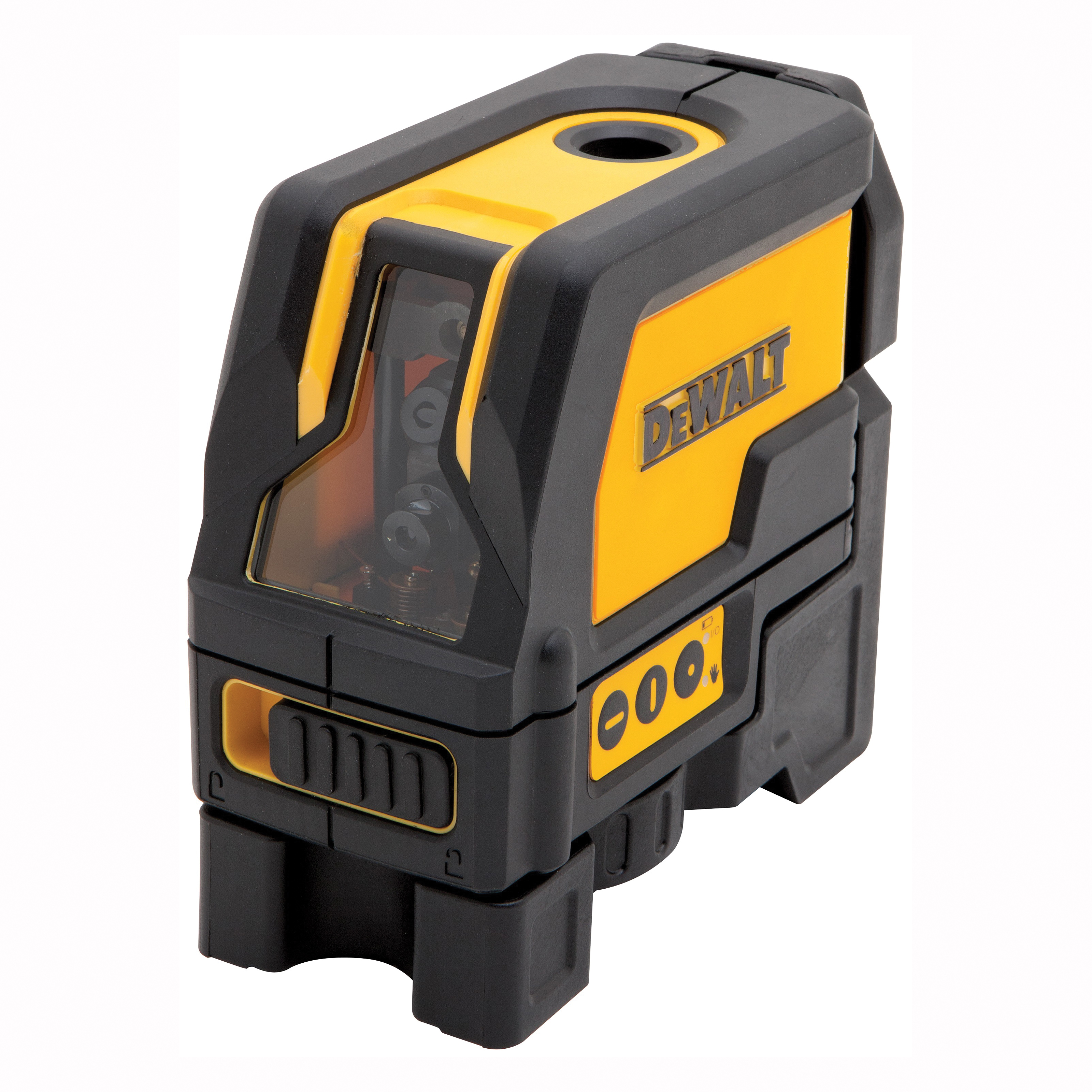 Picture of DeWALT DW0822 Laser, 50 ft, +/-3/16 in at 50 ft Accuracy, 2 -Beam, Red Laser