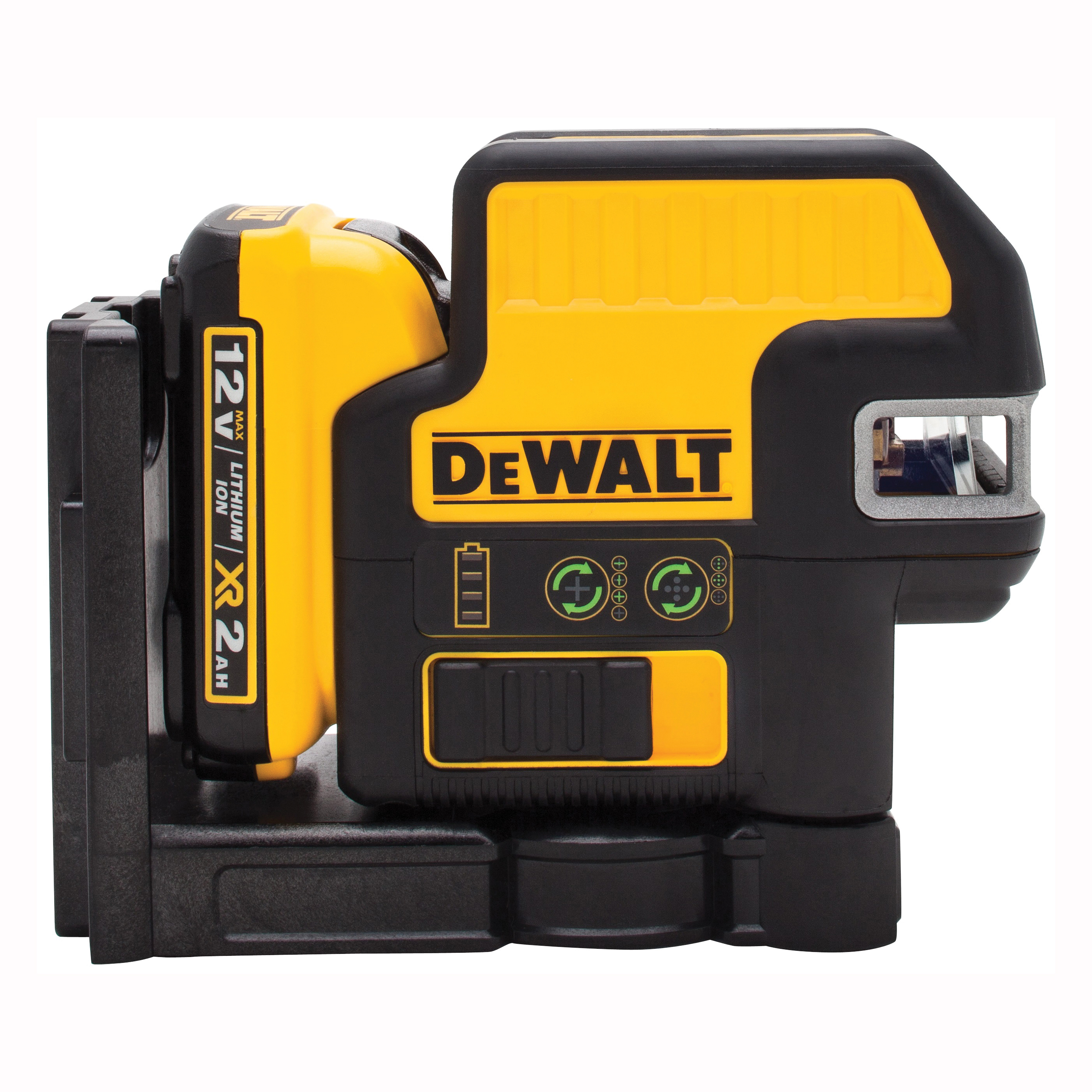 Picture of DeWALT DW0825LG Laser Level, 165 ft, +/-1/8 in at 30 ft Accuracy, Green Laser