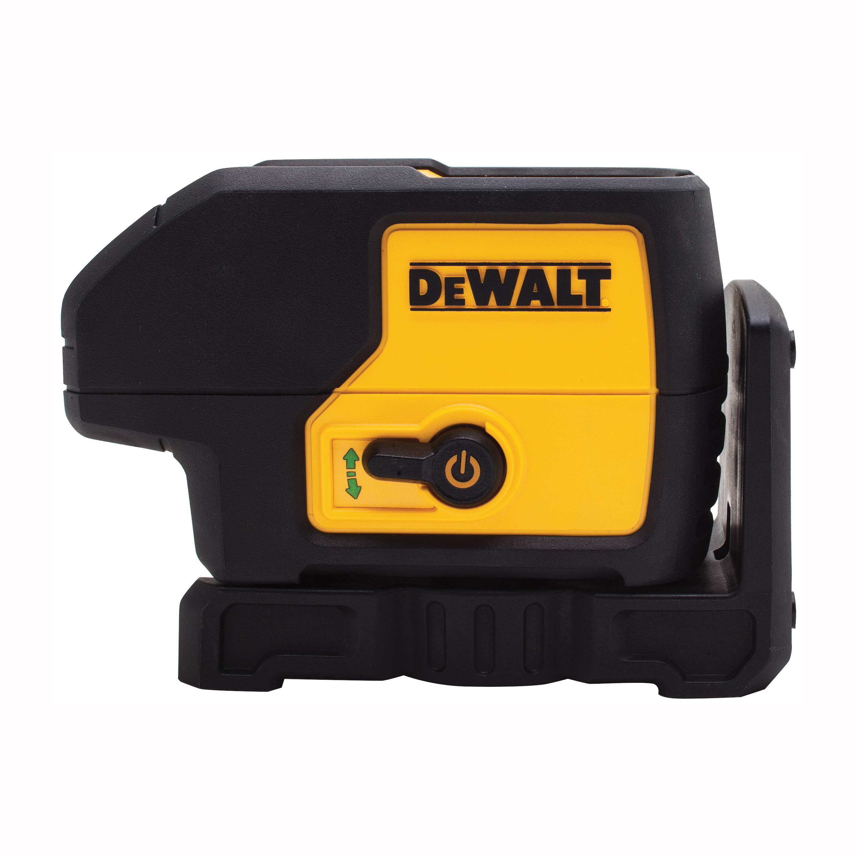 Picture of DeWALT DW083CG Laser Level, 100 ft, +/-1/8 in at 30 ft Accuracy, Green Laser