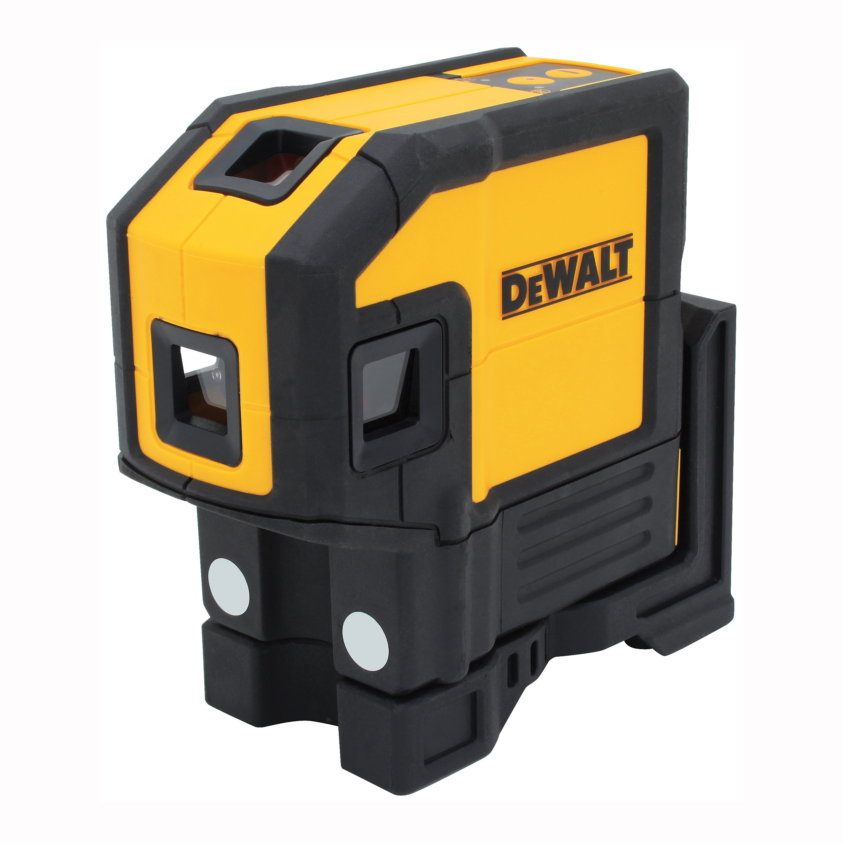 Picture of DeWALT DW0851 Laser Level, 165 ft, +/-1/8 in at 100 ft Accuracy, 5 -Dot, Red Laser