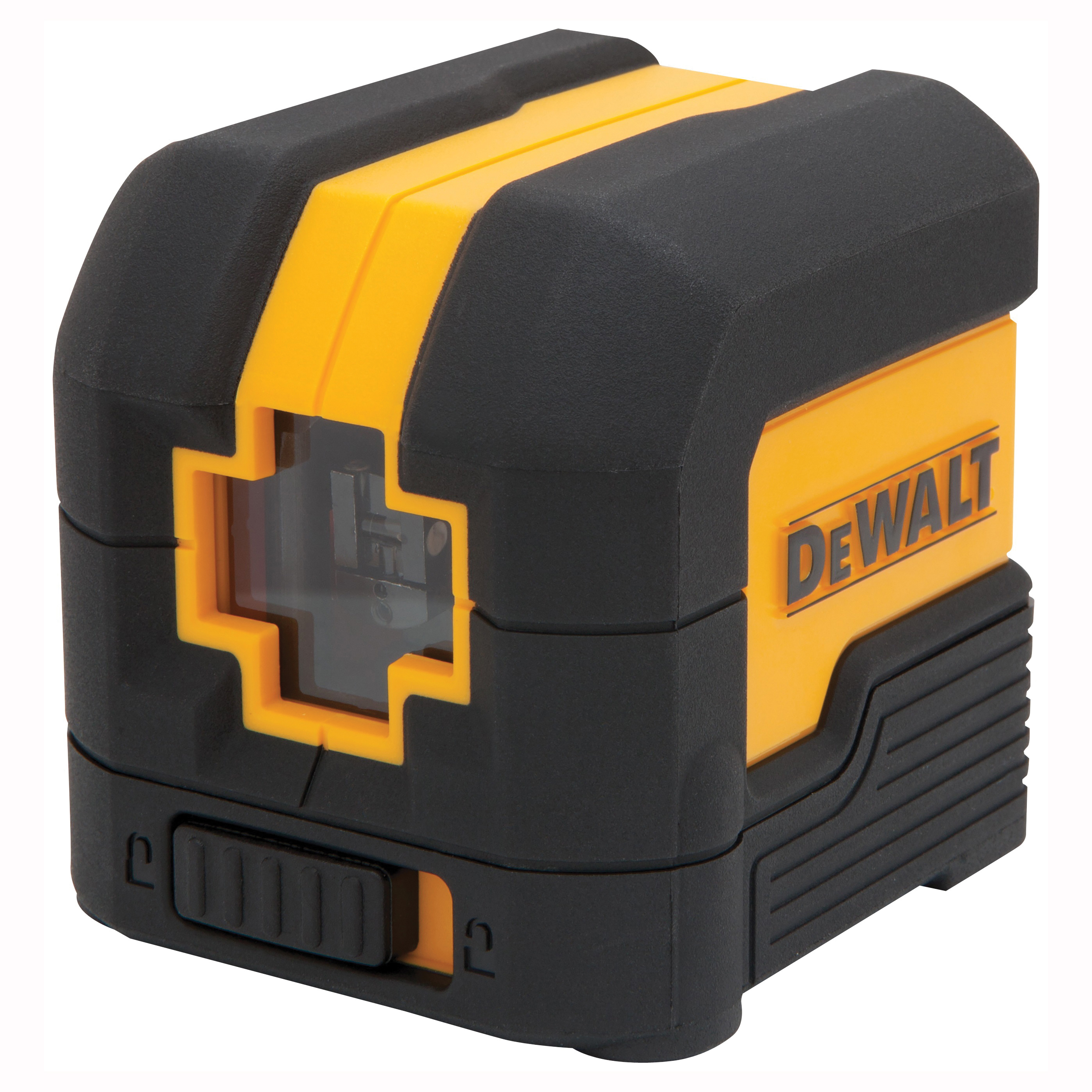 Picture of DeWALT DW08801 Laser Level, 50 ft, +/-1/4 in Accuracy, Red Laser
