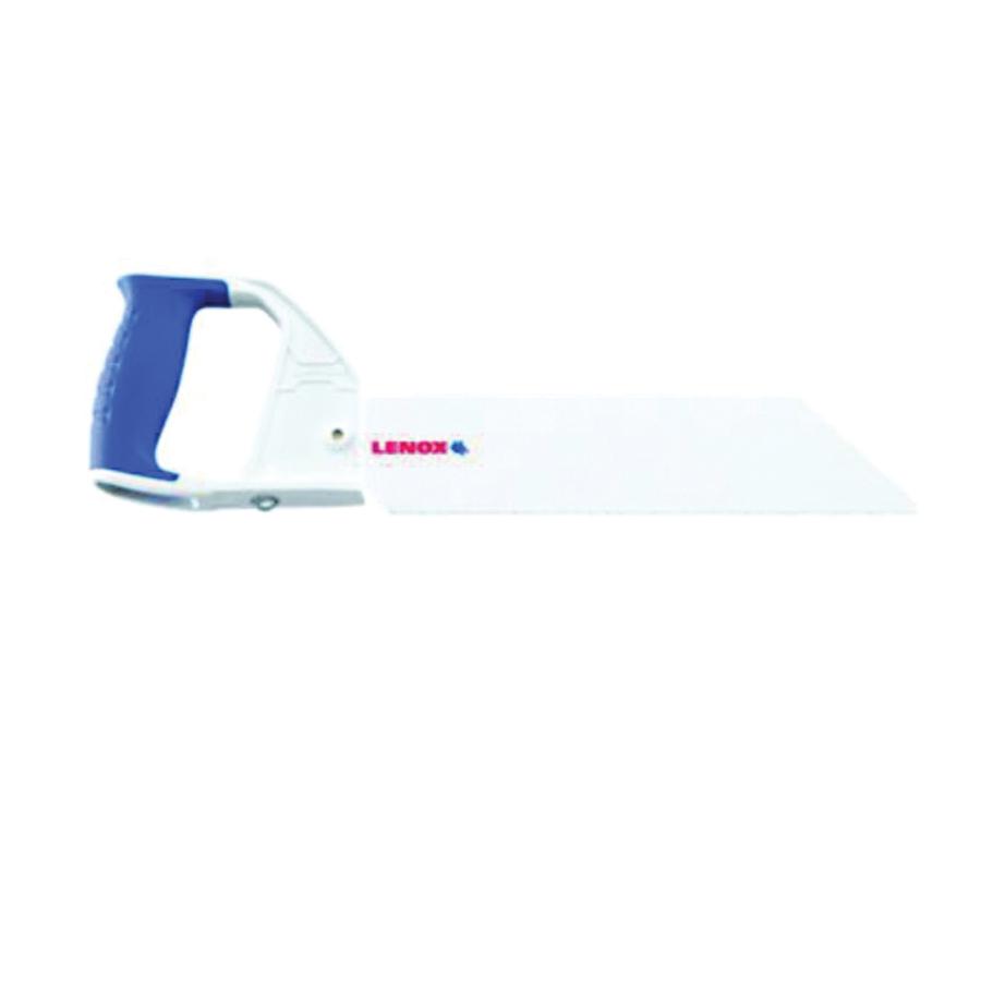 Picture of Lenox 20980HSF18 Handsaw, 18 in L Blade, Carbon Steel Blade, 10 TPI, Comfort-Grip Handle, Aluminum Handle