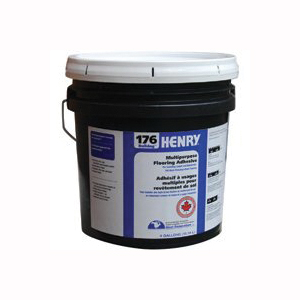 Picture of HENRY 12289 Flooring Adhesive, Paste, Mild, Beige, 4 gal Package, Pail
