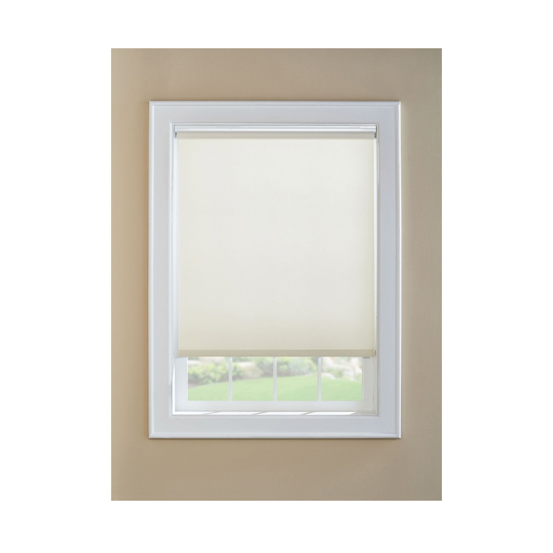 Picture of LEVOLOR SRSECD3706001D Window Shade, 60 in L, 37 in W, 1-Ply, Vinyl, White