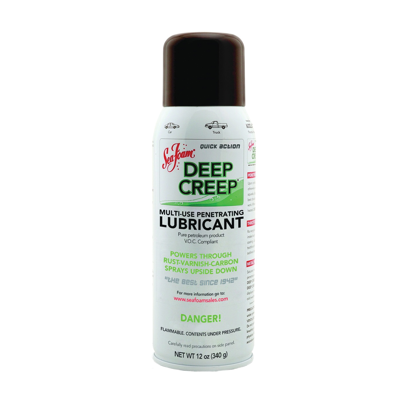 Picture of Sea Foam DC14 Penetrating Lubricant and Cleaner, Liquid, Typical