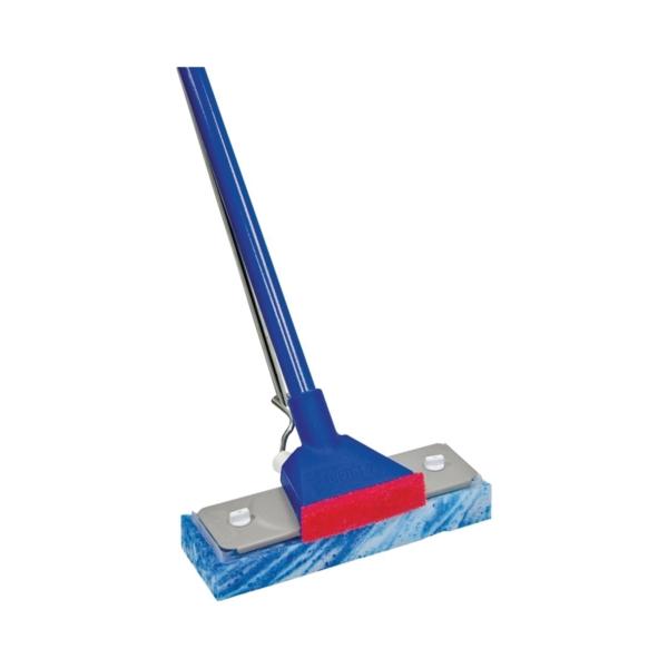 Picture of Quickie 045TRI Sponge Mop, Cellulose Sponge Mop Head, Steel Handle