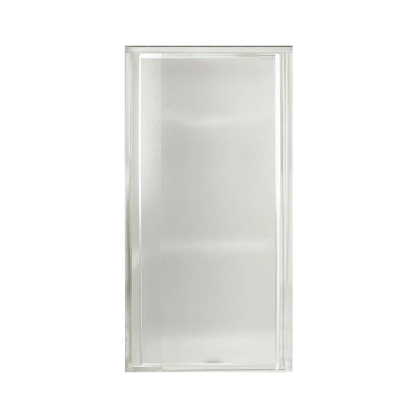 Picture of Sterling 1500D-31S Shower Door, Tempered Glass, Textured Glass, Framed Frame, Aluminum Frame