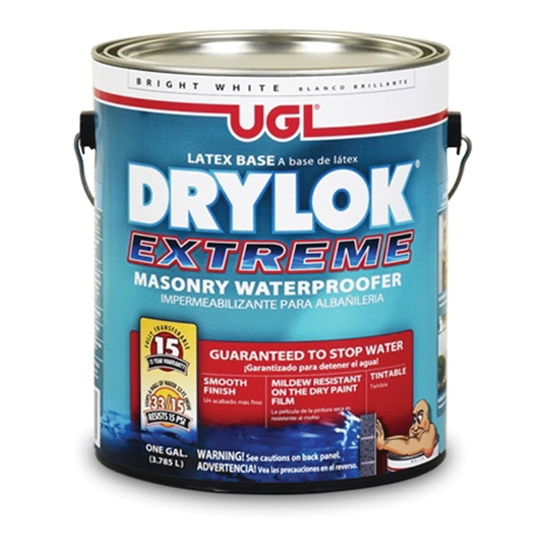 Picture of UGL DRYLOK 21913 Masonry Waterproofer, Liquid, White