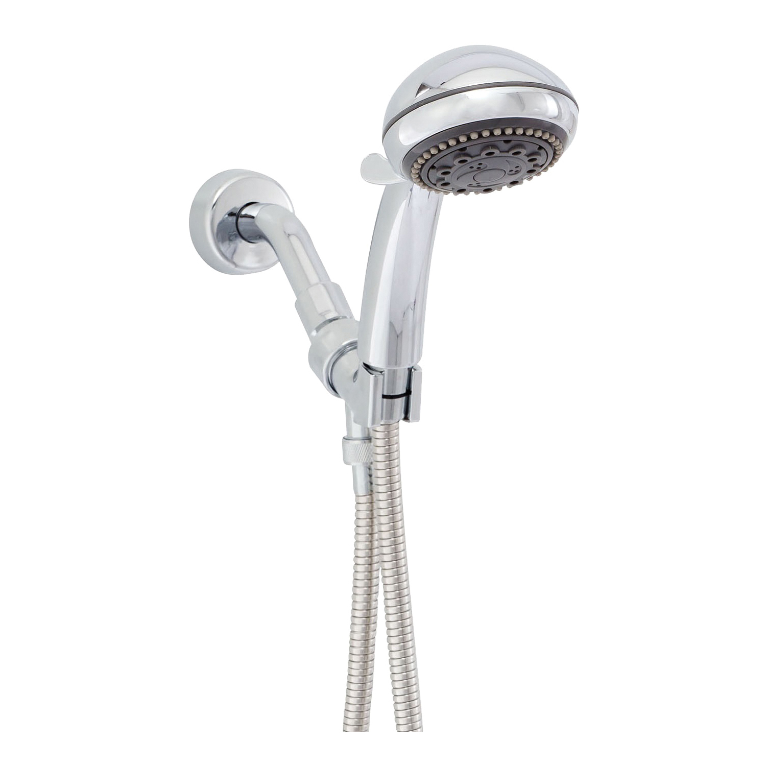 Picture of Whedon Champagne Massage AFP6C Hand Shower, 2.5 gpm, 7-Spray Function, Chrome, 80 in L Hose