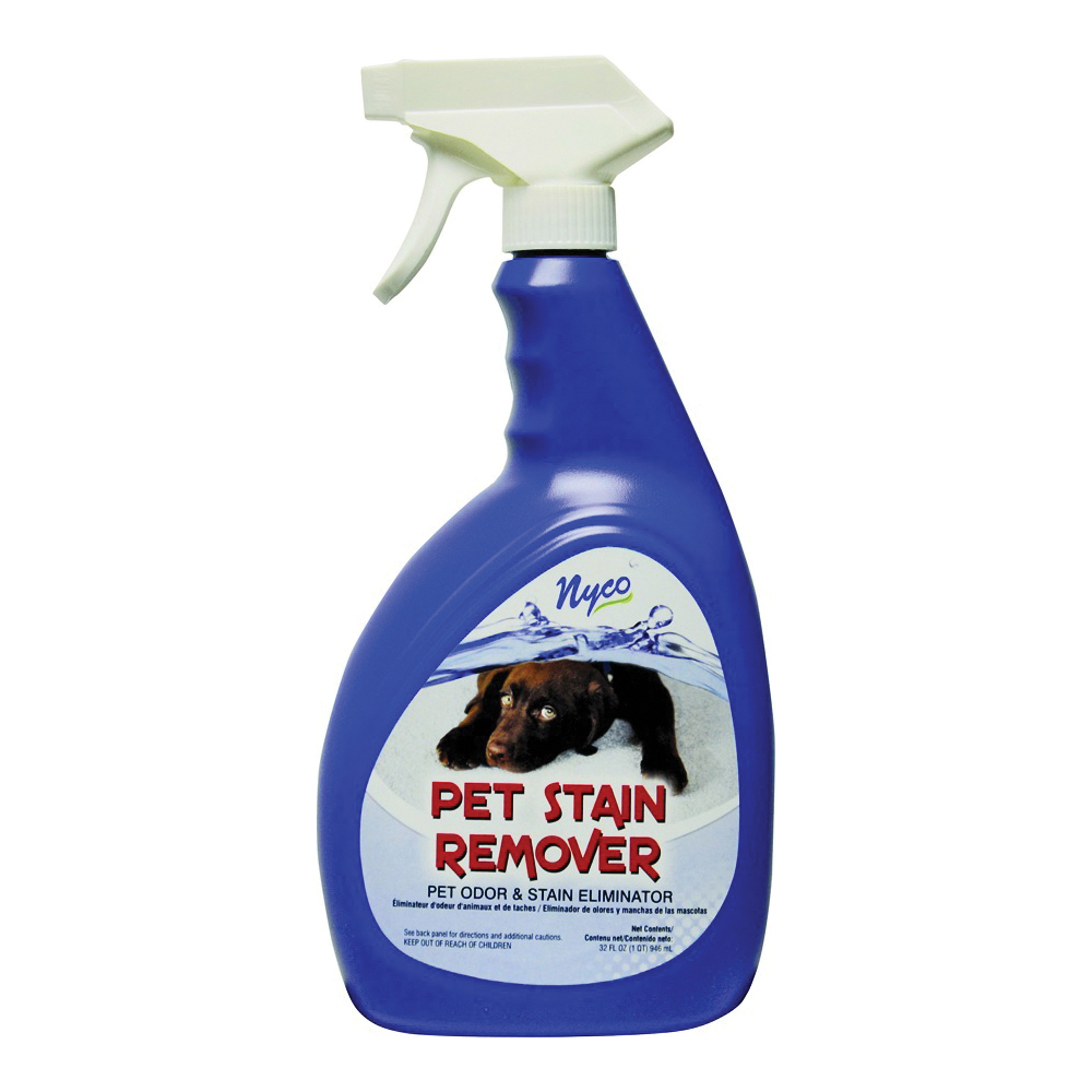 Picture of nyco NL90390-953206 Pet Stain Remover, Liquid, Fresh and Clean, 32 oz Package