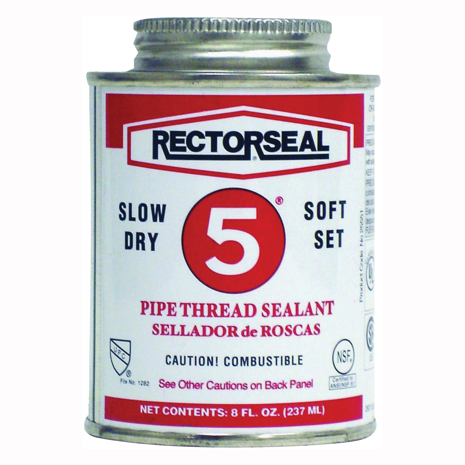 Picture of RECTORSEAL 25551 Thread Sealant, 0.5 pt, Can, Paste, Yellow