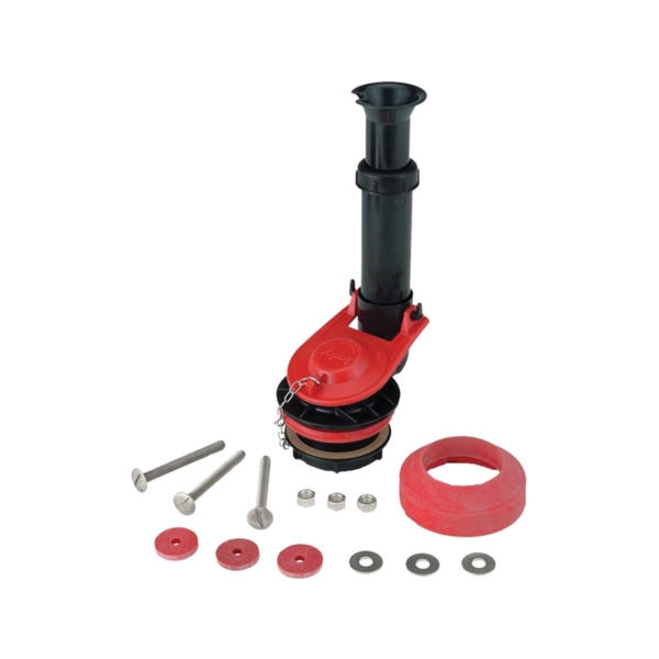 Picture of Korky 4030PK Flush Valve Kit, 1.28, 1.6, 3.5 and 5 gpf Flush, Plastic/Rubber, For: 2-Piece Toilet Tanks