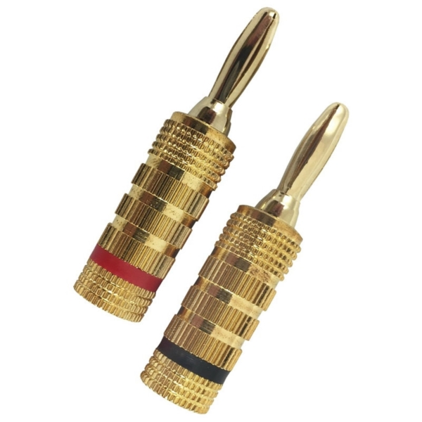 Picture of Zenith AM1004BP RCA Banana Plug, Gold, 4