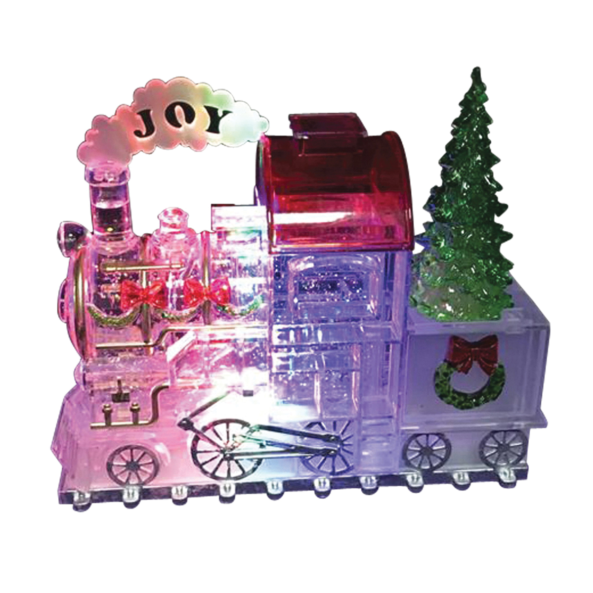 Picture of Santas Forest 21307 Train Ornament, LED Bulb