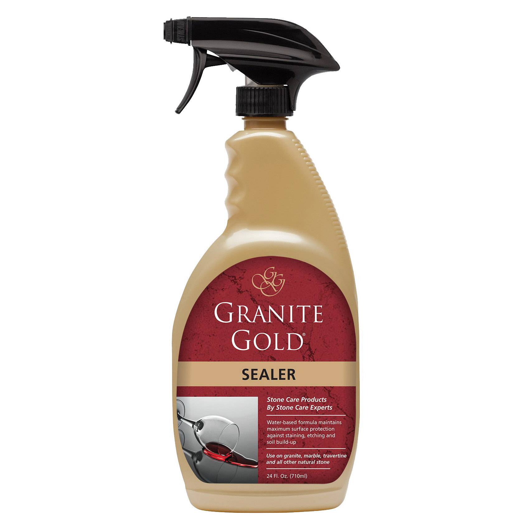 Picture of GRANITE GOLD GG0036 Sealer, Liquid, Clear, 24 oz, Spray Bottle
