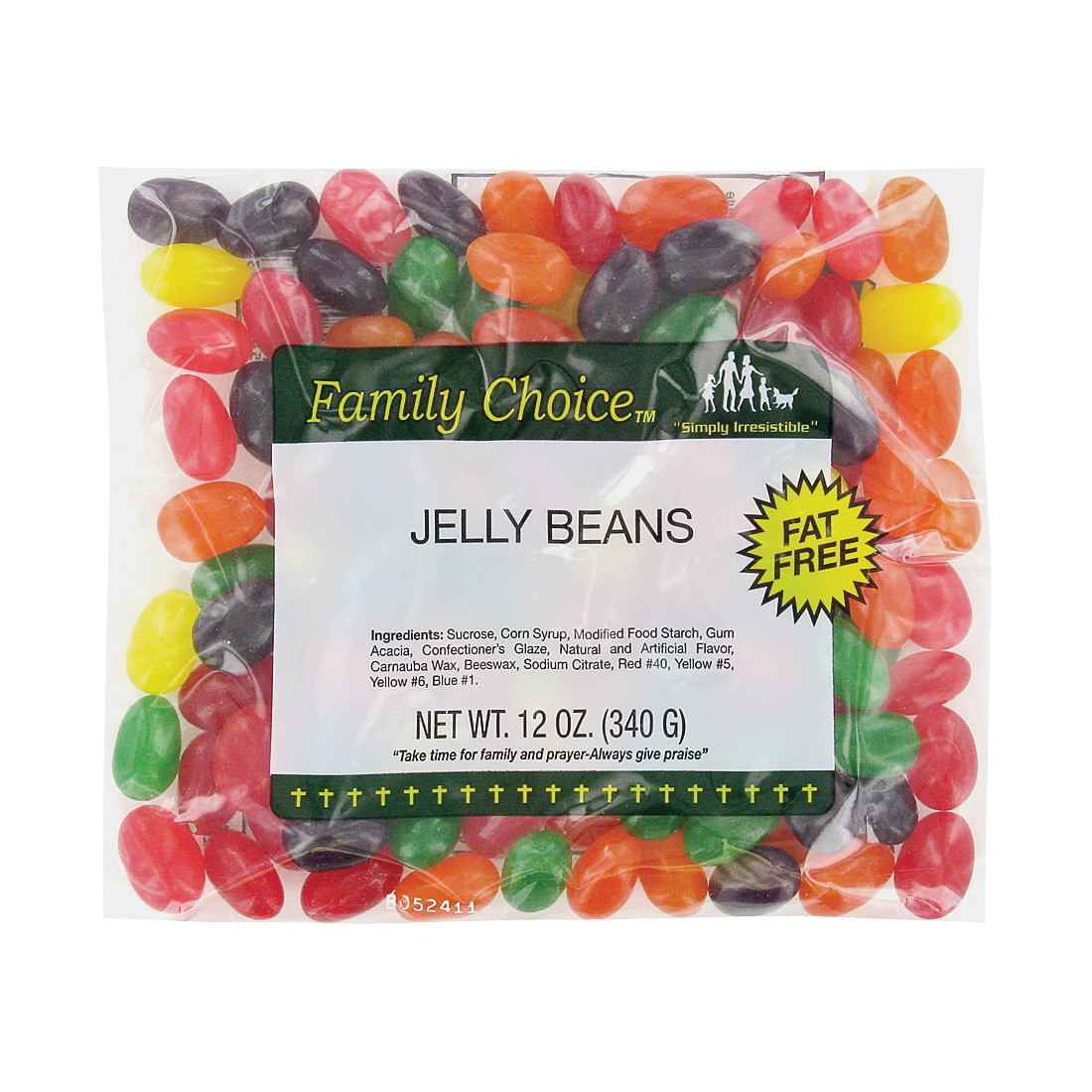 Picture of Family Choice 1153 Jelly Bean Candy, 9.5 oz Package