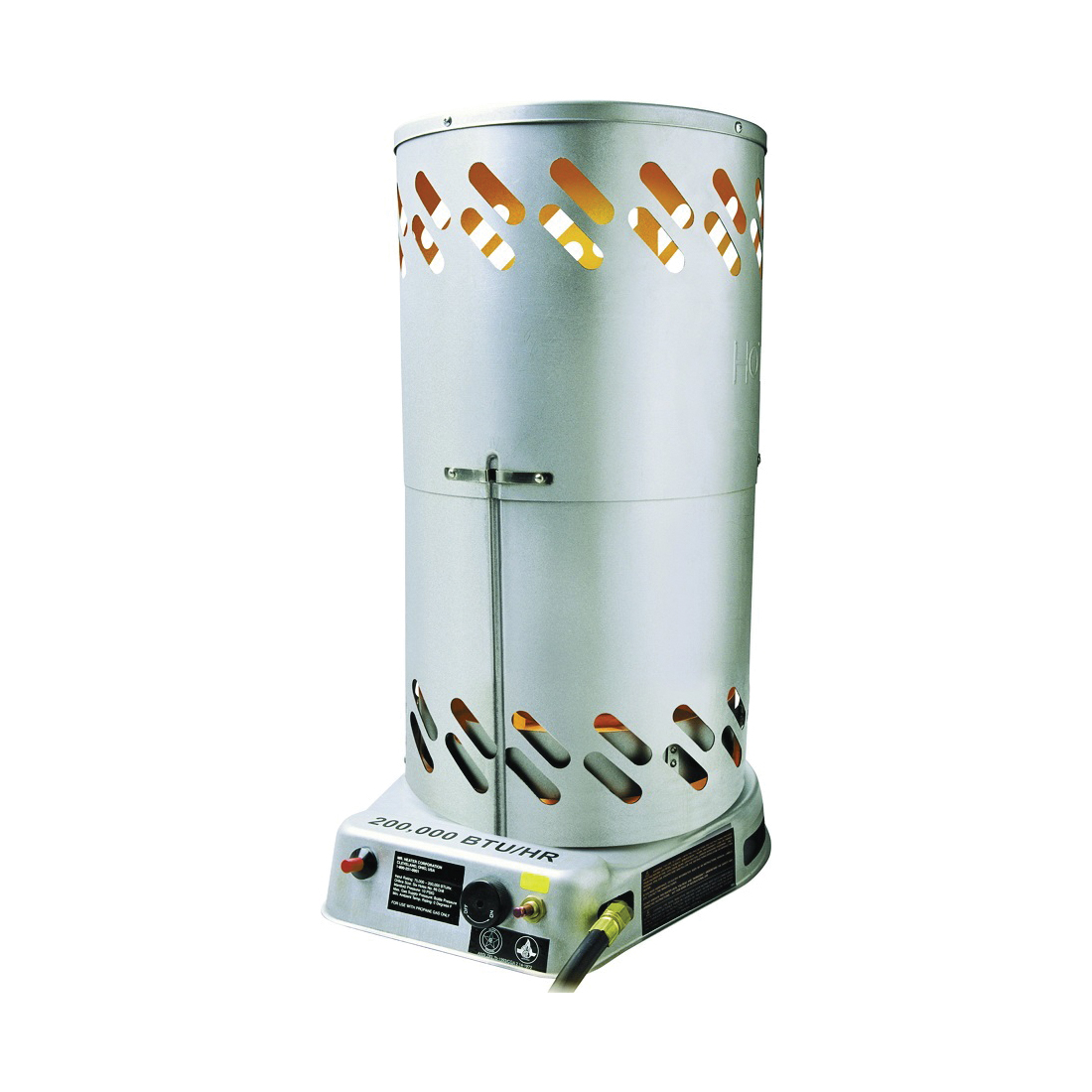 Picture of Mr. Heater F270500 Convection Heater, 100 lb Fuel Tank, Propane, 75000 to 200000 Btu, 5000 sq-ft Heating Area