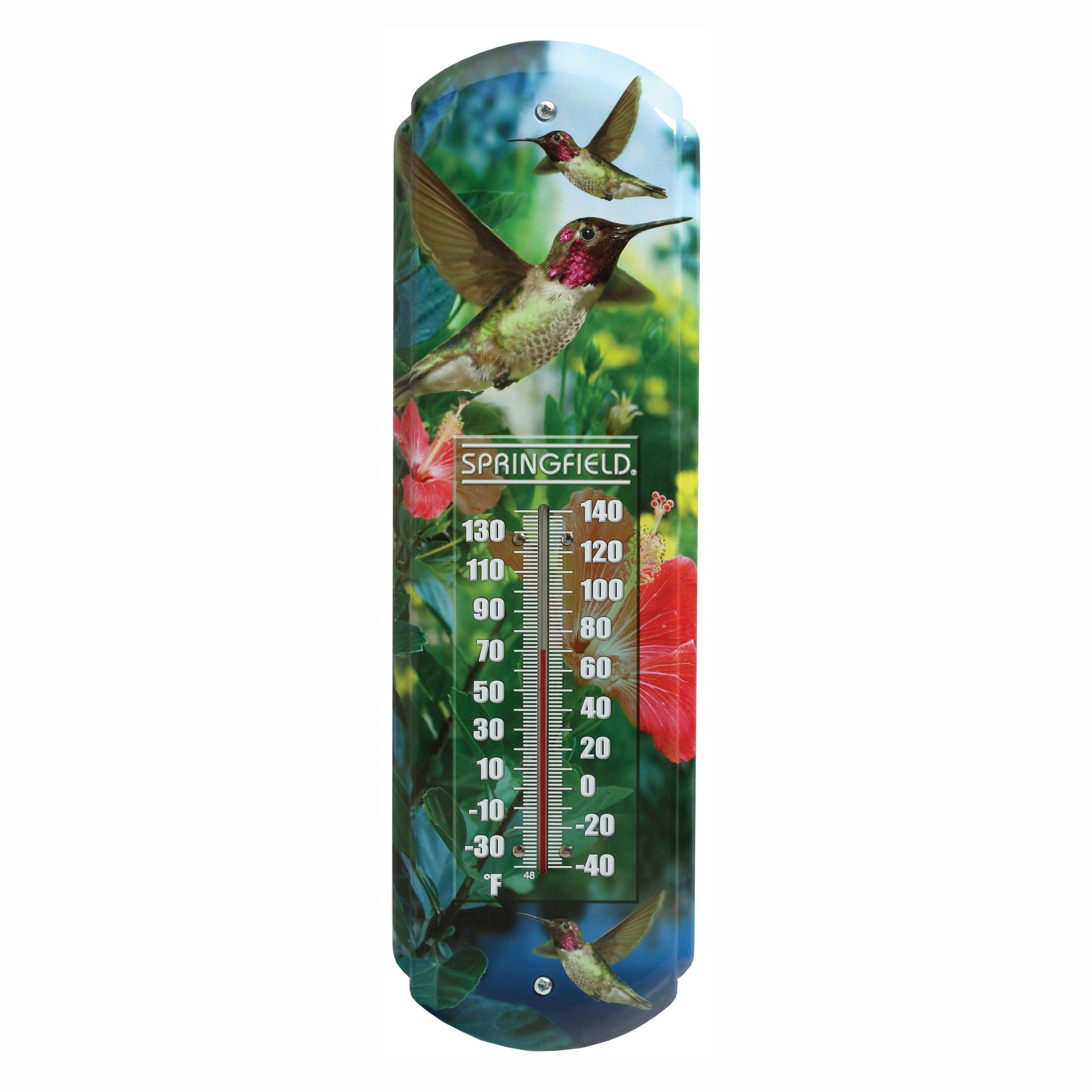 Picture of Taylor 98218 Thermometer, -40 to 140 deg F, Metal Casing