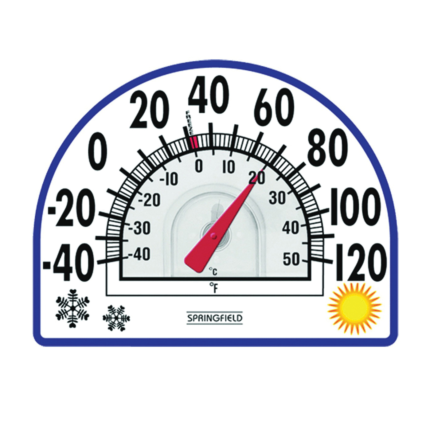 Picture of Taylor 91157 Thermometer, -40 to 120 deg F