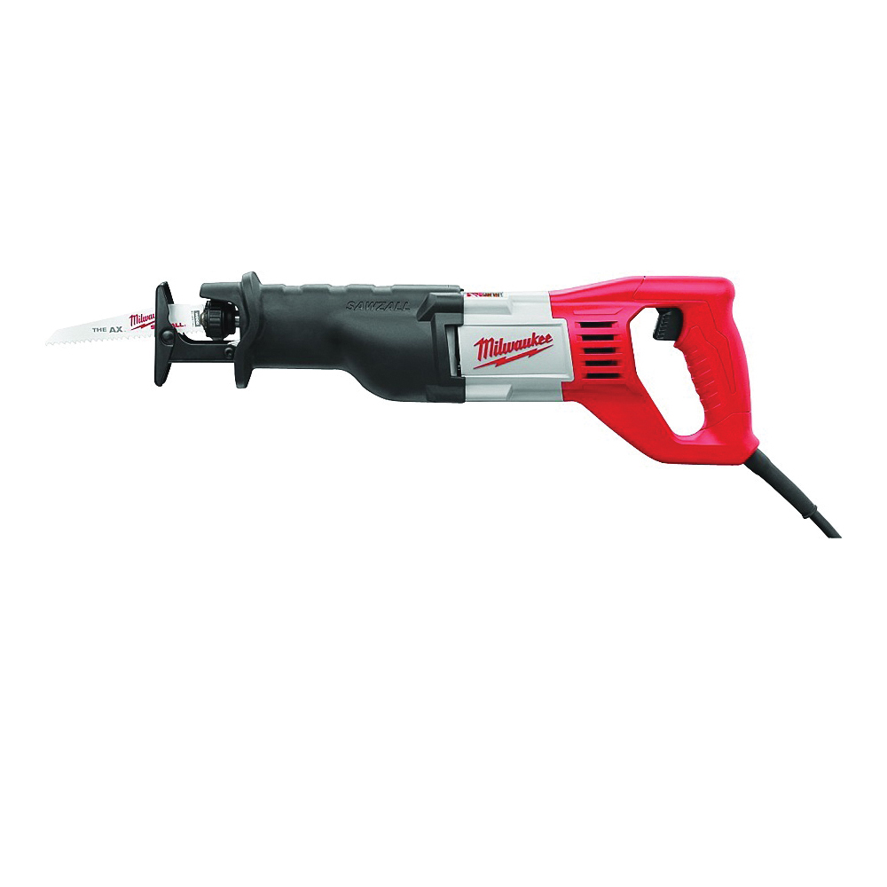 Picture of Milwaukee Sawzall 6519-31 Reciprocating Saw Kit, 120 V, 12 A, 1-1/8 in L Stroke, 0 to 3000 spm SPM