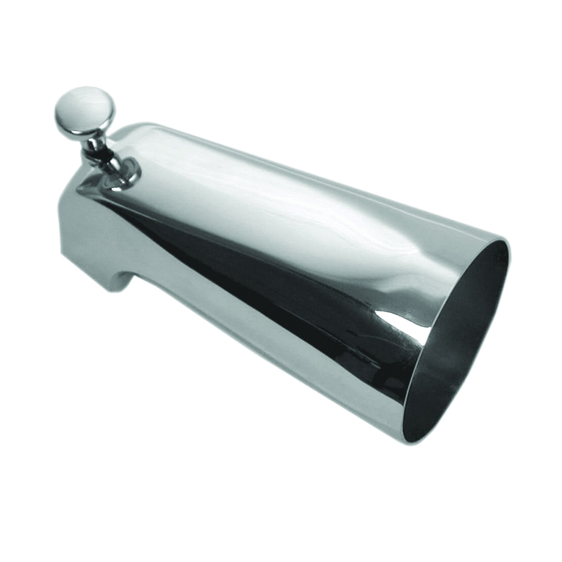 Picture of Danco 88052 Tub Spout with Front Diverter, Metal, Chrome, For: 1/2 in IPS Threaded Connection