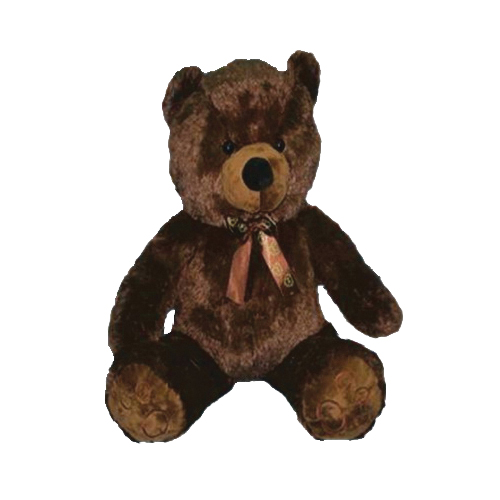 Picture of Santas Forest 28948 Teddy Bear, 48 in H, Polyester