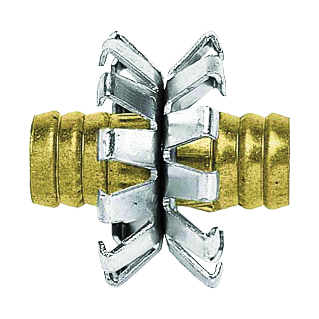 Picture of Gilmour 812154-1001 Heavy-Duty Clinch Hose Mender, 1/2 in, Brass