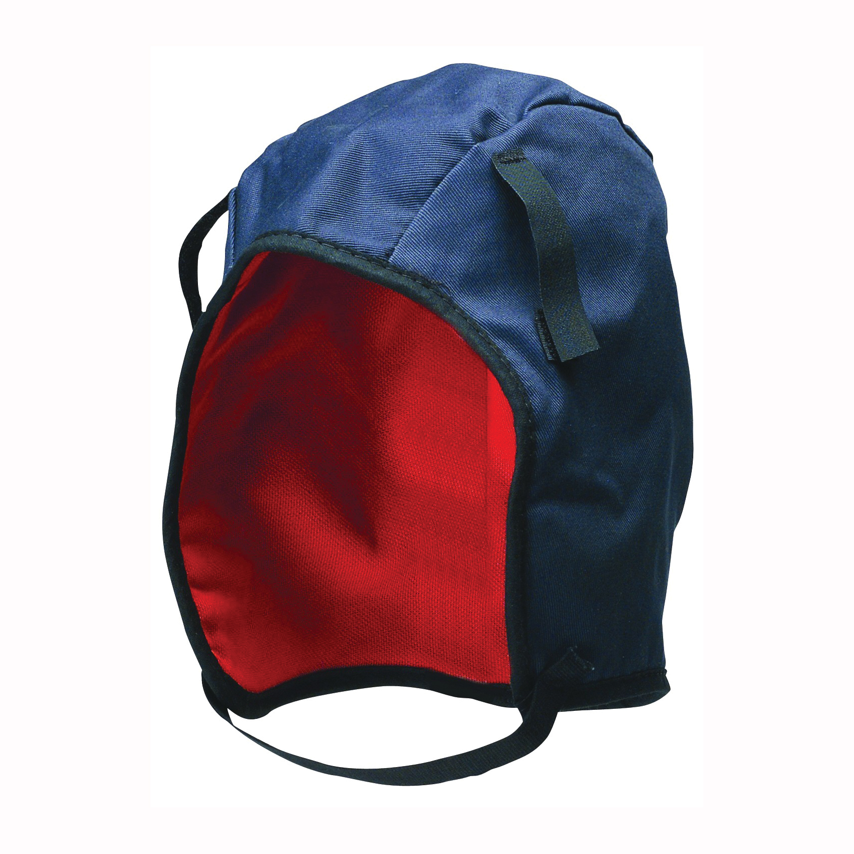Picture of MSA 10062497 Winter Liner, Nylon, Blue, Hook-and-Loop Attachment