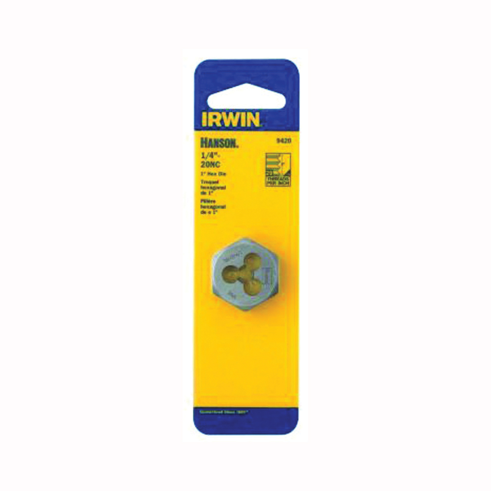 Picture of IRWIN 9427 Machine Screw Dies, 5/16-18 Thread, NC Thread, Right Hand Thread, HCS