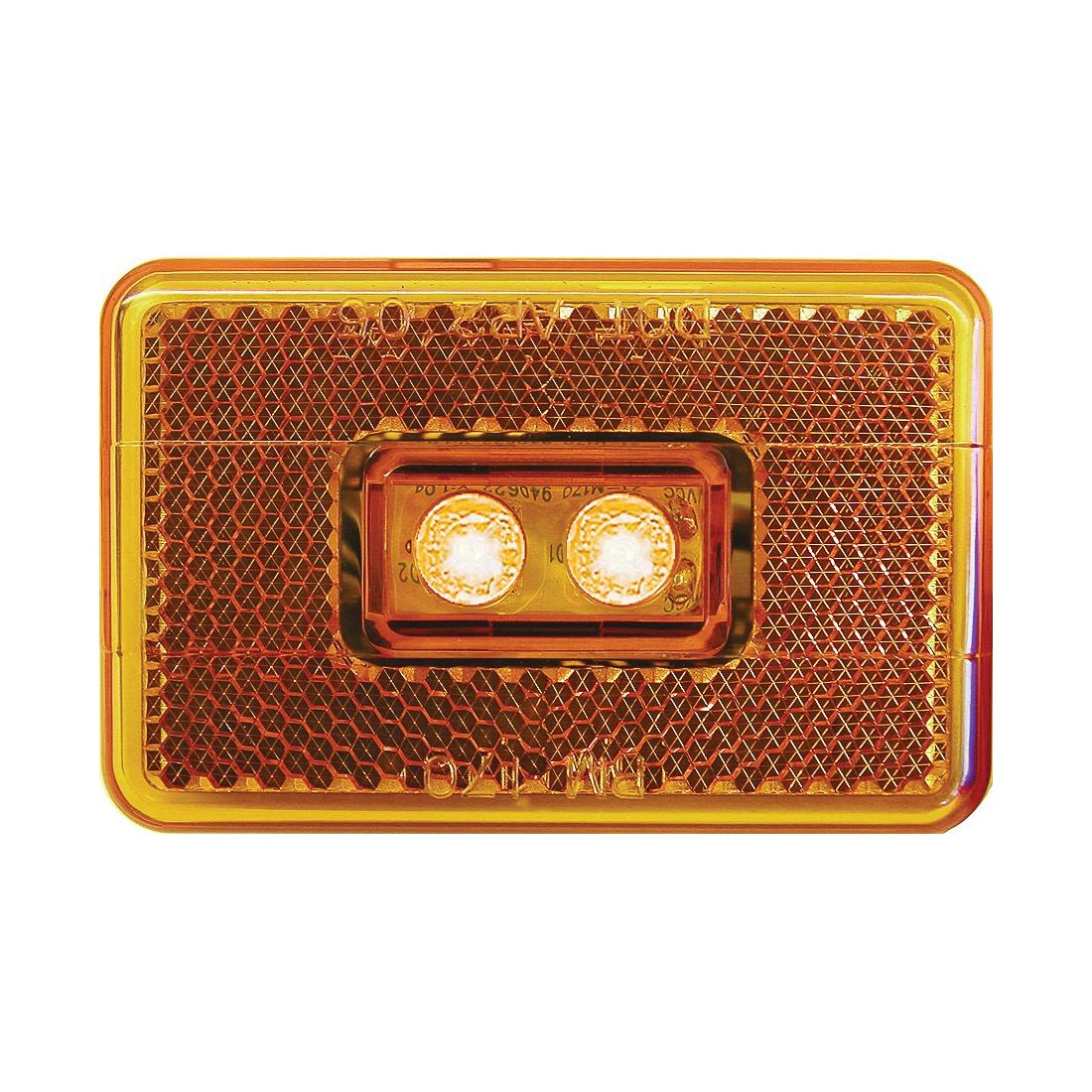 Picture of PM V170A Marker Light, 9/16 V, 2 -Lamp, LED Lamp, Amber Lamp