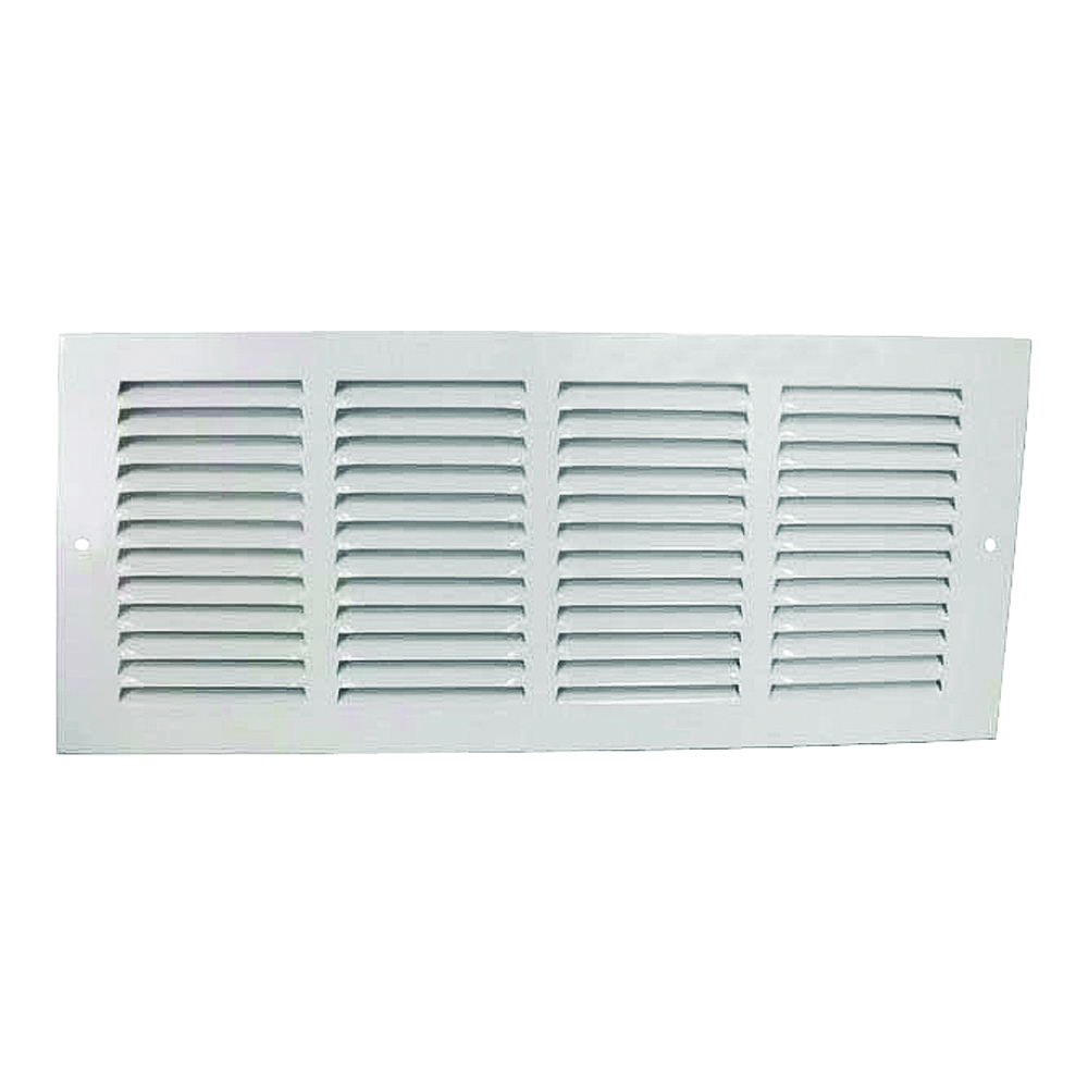 Picture of ProSource 1RA1406 Return Air Grille, Steel, White