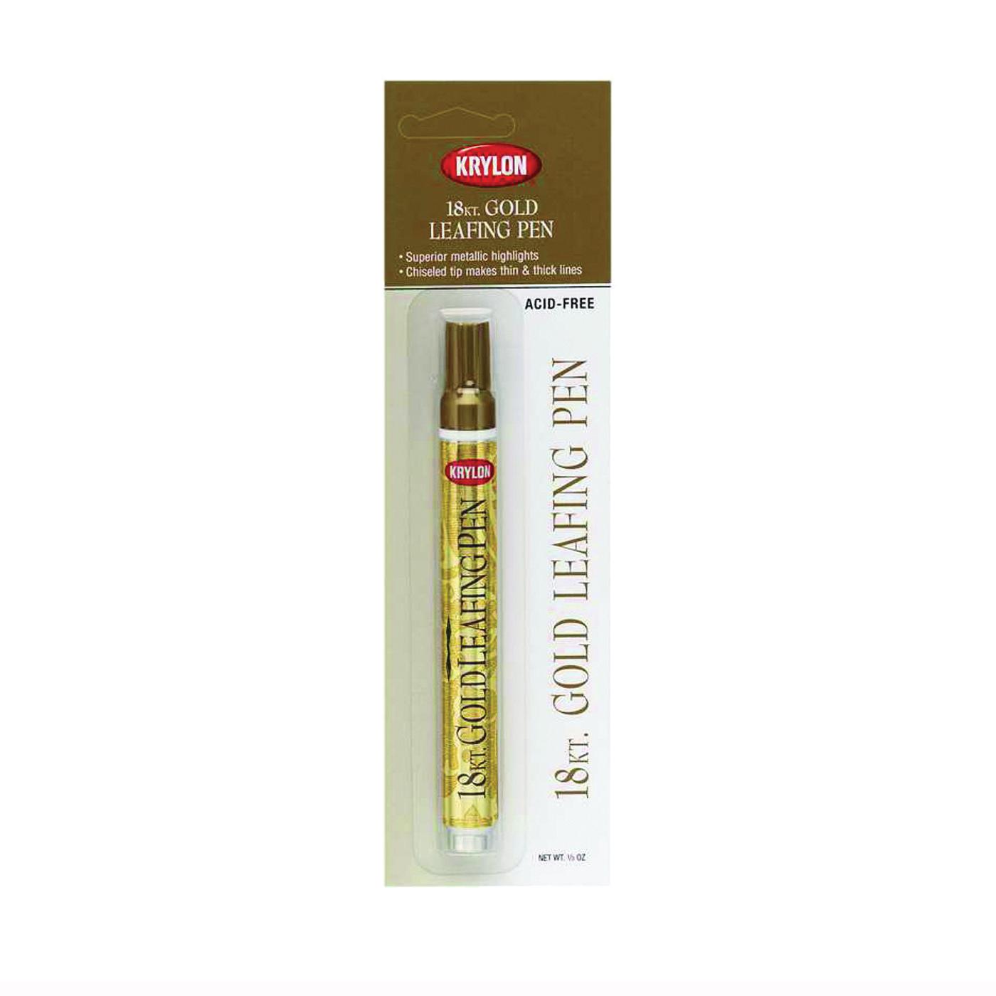 Picture of Krylon K09901A00 Leafing Pen, Gold, 0.33 oz Package