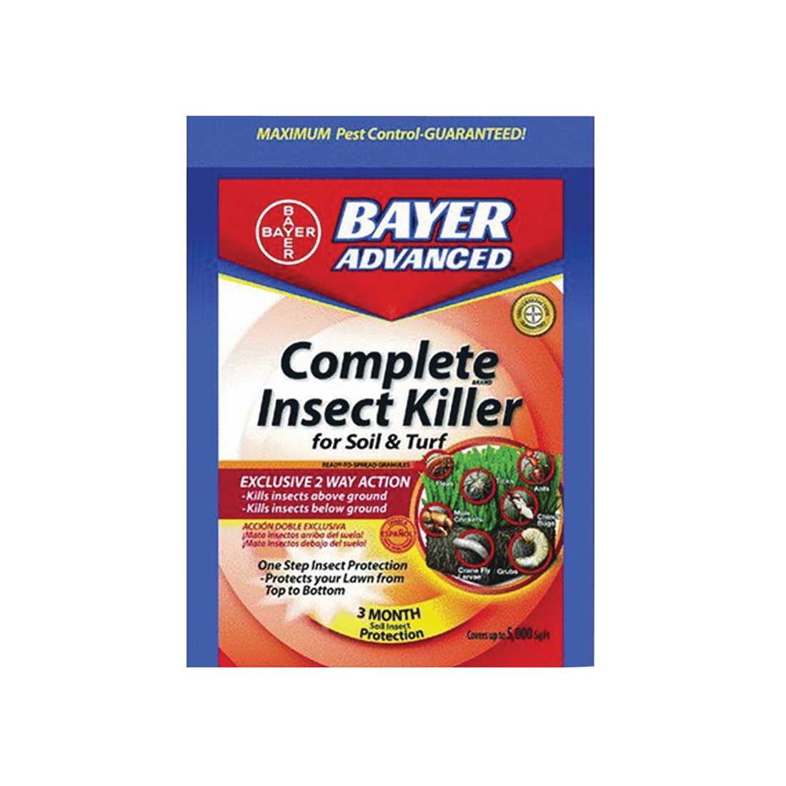 Picture of BioAdvanced 700288H Insect Killer, Granular, Sprinkle Application, 10 lb Package, Bag