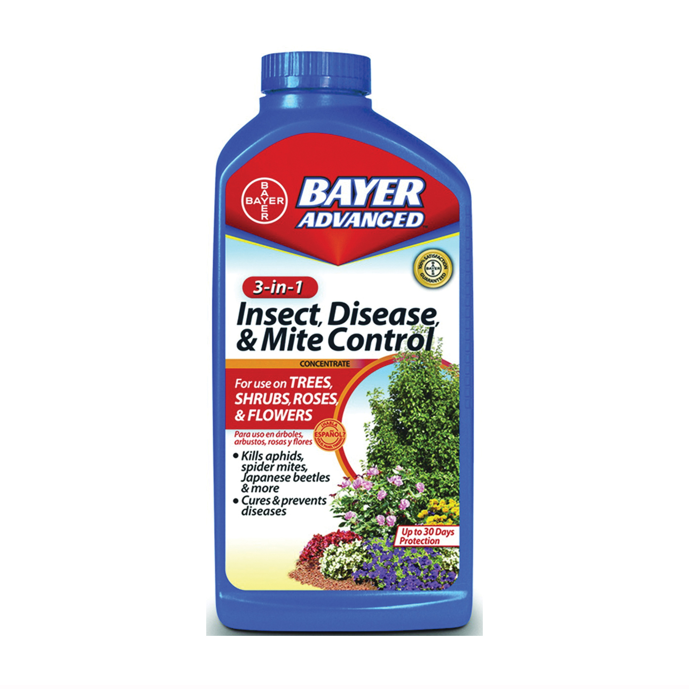 Picture of BioAdvanced 708285A Disease and Mite Control, Liquid, Spray Application, 32 oz Package, Bottle